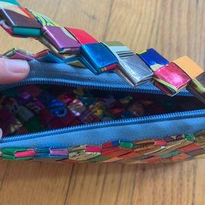 Vintage Bags - Vintage Y2K Upcycled Mexican Candy Wrapper Purse
